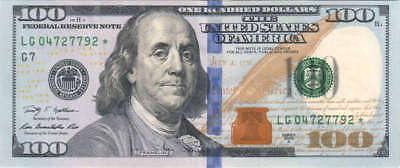 $100 Dollar Bill Series 2009-2013 FRB Lightly Circulated-LOW FEE-FAST SHIPPING