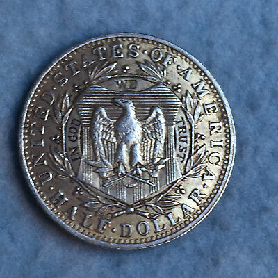 Check out the Eagle & The Famous Head on this Fantasy Silver Half Dollar 1877