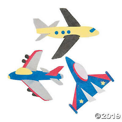 Airplane Aeroplane Aircraft Children's Kids Sand Art Craft Kits Party Favours