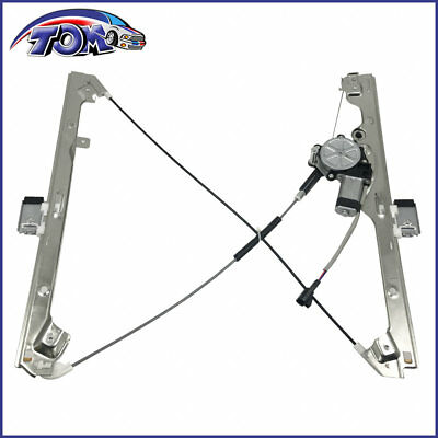 Power Window Regulator Motor Assembly Front Left For Chevy GMC Cadillac,741-644