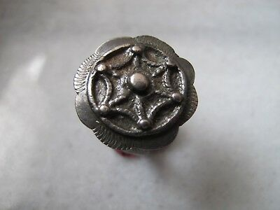 Antique Byzantine Medieval Ancient Alloy Silver ring
