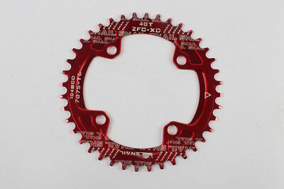 104BCD SNAIL MTB Bike Chainring MTB Mountain Bike Round Narrow Chainring 40/42T