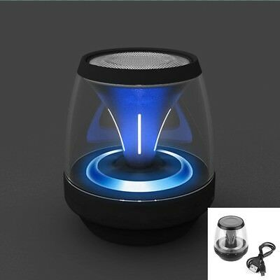 Portable LED Wireless Bluetooth Speaker Stereo Music For Smartphone Tablet PC HW