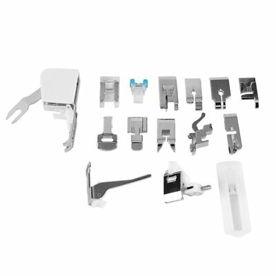 15 pcs Domestic Household Electric Sewing Machine Presser Foot Feet FT