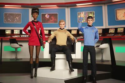 Barbie Collector Star Trek Doll 50th Anniversary Black Label Series 30cm