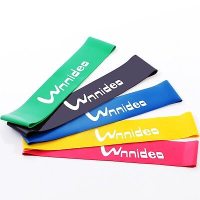 wnnideo Home Fitness Gymnastikband Widerstand Loop Bands