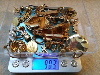 Gold Filled Jewelry - 1/20 12K & 14k - 90+grams - Scrap or Not