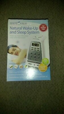 Sound Oasis Natural Wake-Up and Sleep System Light Therapy