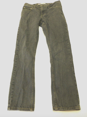 Levis 511 Boys Size 14 Regular (27X27) Grey Skinny Jeans Great Condition