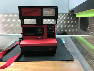 Vintage Polaroid 600 Instant Camera Cool Cam with Strap