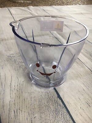 """Magic Baby Bullet Large Clear Pitcher Batch Bowl Replacement Part 4"""" H"""