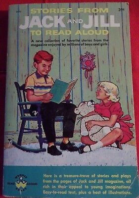 Stories From Jack And Jill To Read Aloud Paperback Vintage Childrens Book 1960