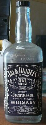 Jack Daniel's 1971 1 Quart Black Label 90 Proof Bottle