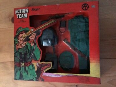 1//6th 1970 MOC VINTAGE 70/'s GI JOE ACTION TEAM HASBRO XM 214 AUTOMATIC GUN UNPUN