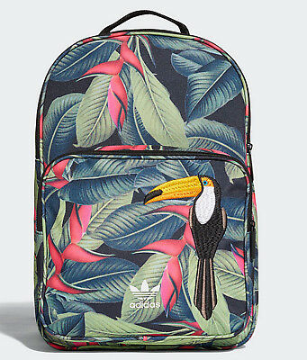 35d609d2ec5d Adidas originals FARM toucan trefoil Backpack Classic Bag school men womens