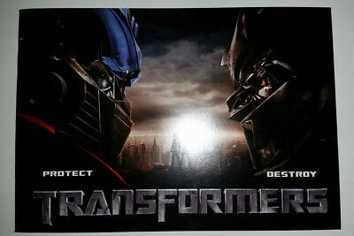 Transformers  2007 Collectible 32-page Color Booklet from 2-Disc Special Edition