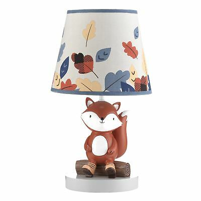 Lambs & Ivy Little Campers Lamp with Shade & Bulb