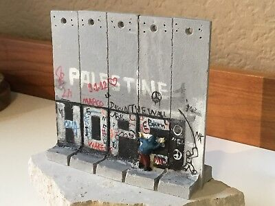 BANKSY - Wall Section | Souvenir Walled Off Hotel | Hope Palestine incl. Receipt