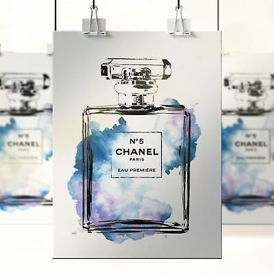 CHANEL NOIR COCO POSTER PRINT PHOTO PICTURE A4 A3 -PRINT DESIGN Beauty Girls 130