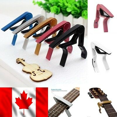 Alloy Single handed Guitar Trigger Capo Quick Change (550-002)