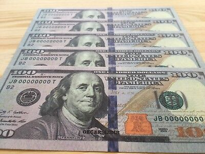 25 Pieces New High Quality Usa 100's Invalid Games $2.500 Full Color Paper Money