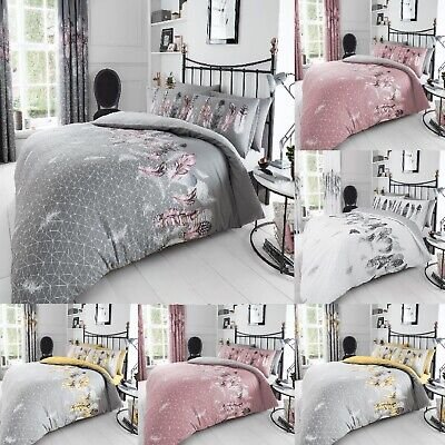 Feathers & Multi Duvet Covers Quilt Covers Reversible Bedding Sets New Luxury