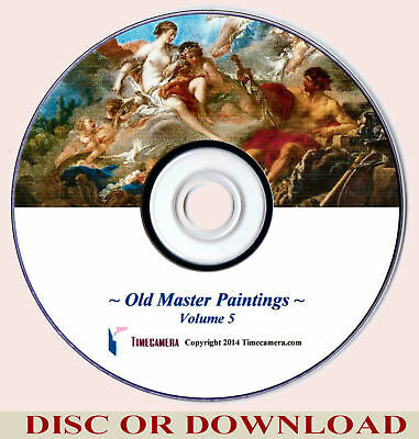 Make / Sell Prints - OLD MASTER PAINTINGS Vol.5 (Restored Images Collection)