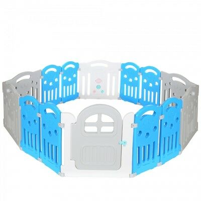 LCP Kids CORRAL Baby Playpen Children Playyard XXL size Room Divider Safety Gate