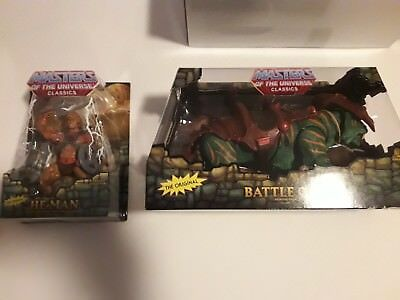 Masters of the Universe Classics - He-Man & Battle Cat - NEU + OVP - RAR