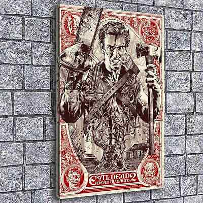 Evil Dead Grey Matter Painting HD Print on Canvas Home Decor  Wall Art Picture