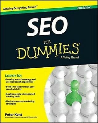 Seo for Dummies  6th Edition by Peter Kent 2015  Read on PC/Phone/Tablet