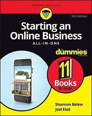Starting an Online Business All-In-One for Dummies, 5th Edition PDF Read on PC/S