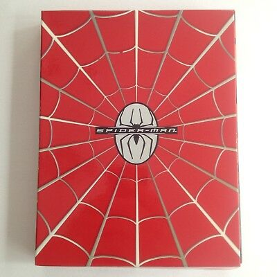 Spiderman: Deluxe Collector's Pack 4 Disc DVD + CD Box Set. Mutants Marvels Doco
