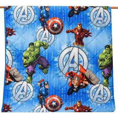 Marvel  - Trapuntino quilt singolo marvel avengers cm 170x260
