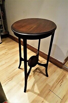 Mahogany Edwardian inlaid table Free UK delivery.
