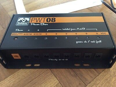 Palmer Pwt 08 Universal Power Supply mit OVP