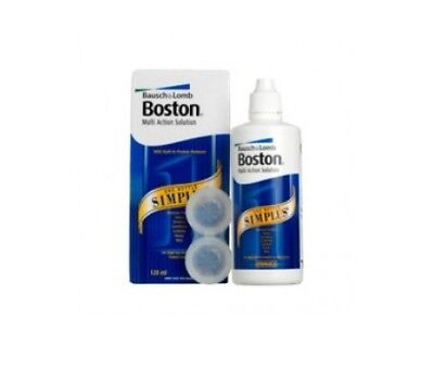 Bausch&Lomb Boston Simplus 3x120ml + kit de viaje de regalo