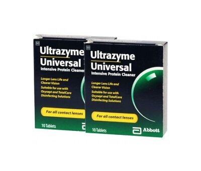 Abbott Pack Ultrazyme 2x10 tabletas