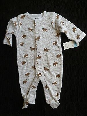 Baby clothes BOY GIRL 3-6m NEW fun reindeer soft quality OshKosh babygrow C SHOP