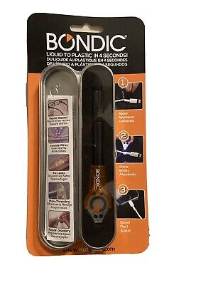 Bondic Repair Anything 100% Non Toxic Liquid Plastic Welder - Not a Glue-SK001