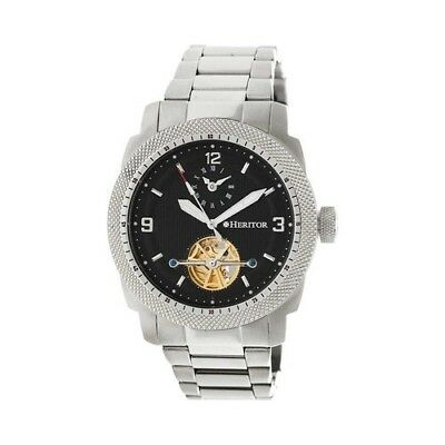 Heritor Men's   Automatic HR5002 Helmsley Watch Silver Stainless