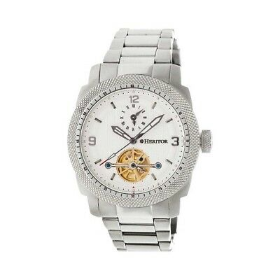 Heritor Men's   Automatic HR5001 Helmsley Watch Silver Stainless