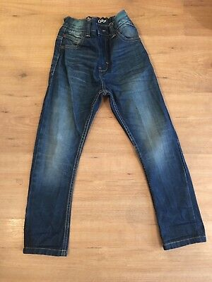 Boys Next Carrot Fit Style Jeans, Age 6 Years, Great Condition