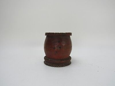 A Chinese Original Antique Bamboo Carving Pen/Brush Container