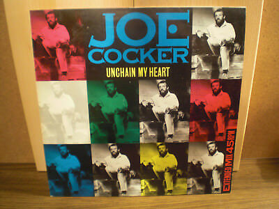 LP Maxi Single Joe Cocker   Unchain my heart
