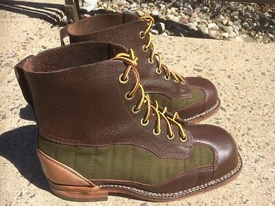 644a763d5d WW2 Era Swedish Military Surplus Mountain   Hiking Boots Vintage Military  Boots
