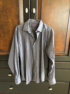 43071769c TED BAKER MENS dress shirt size 7 3XL 40 46 -  50.00