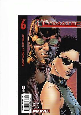 The Ultimates #6 (First Series) Marvel Comics 2002 - Bryan Hitch Art