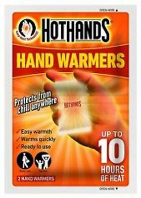 HotHands - Hand Warmers - 2 Per Pack - NEW & FACTORY SEALED PACK