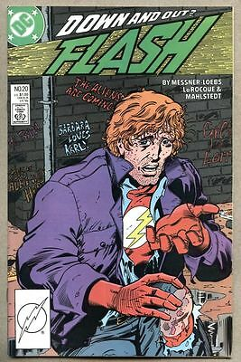 Flash #20-1988 nm Wally West / Pied Piper becomes reformed